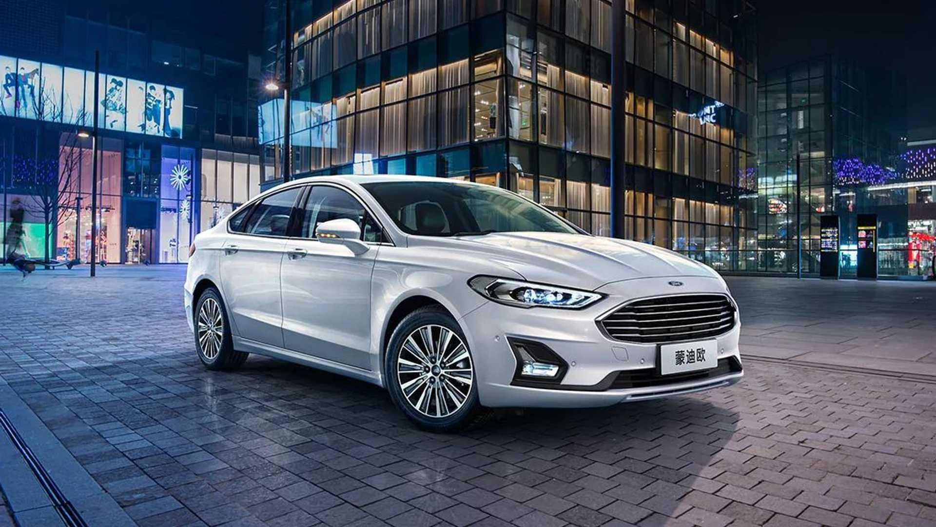 2020 Ford Mondeo facelift (China-spec)   Motor1.com Photos