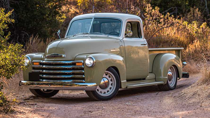 Icon 4x4 Debuts Exquisite Old School Edition Chevy Thriftmaster Truck