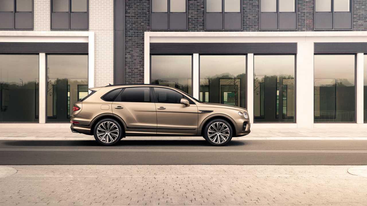 2021 Bentley Bentayga Hybrid Facelift Eksterior Motor1 Com Photos