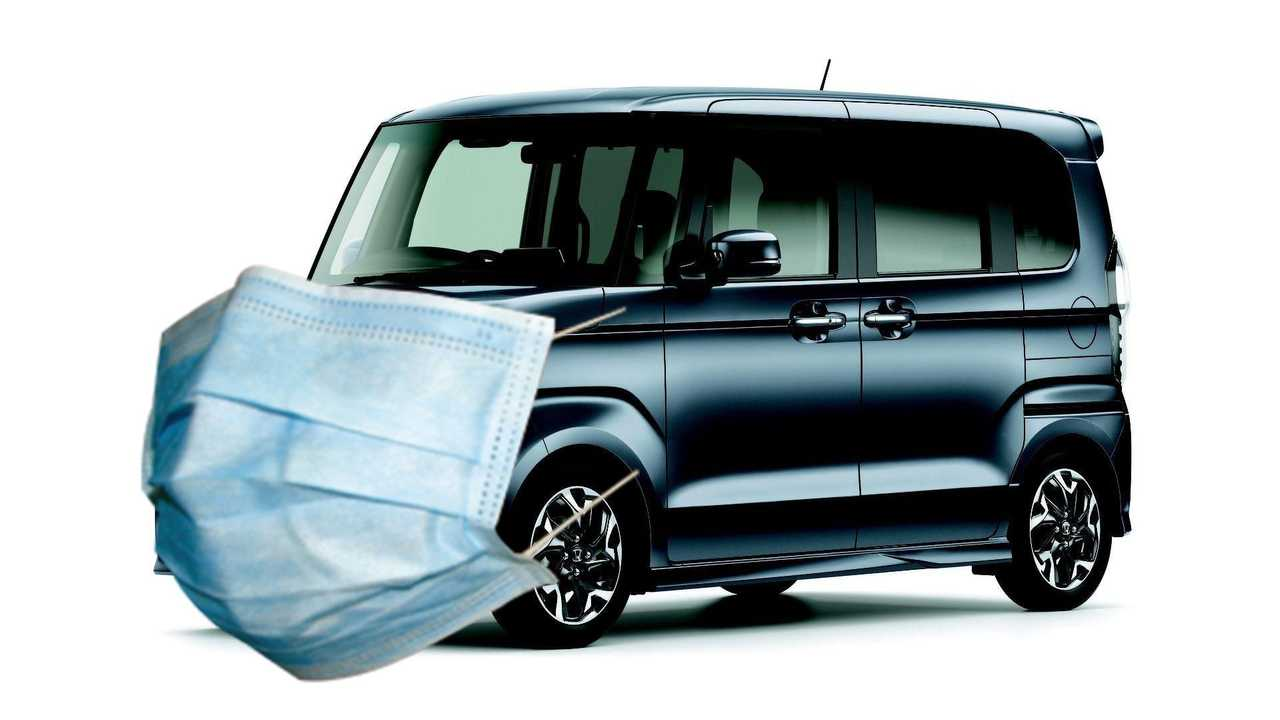 Honda N-Box With Face mask
