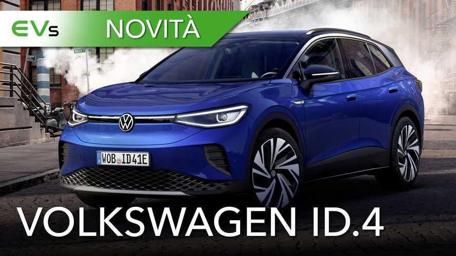 Volkswagen ID.4, si parte con 520 km di autonomia: tutte le informazioni