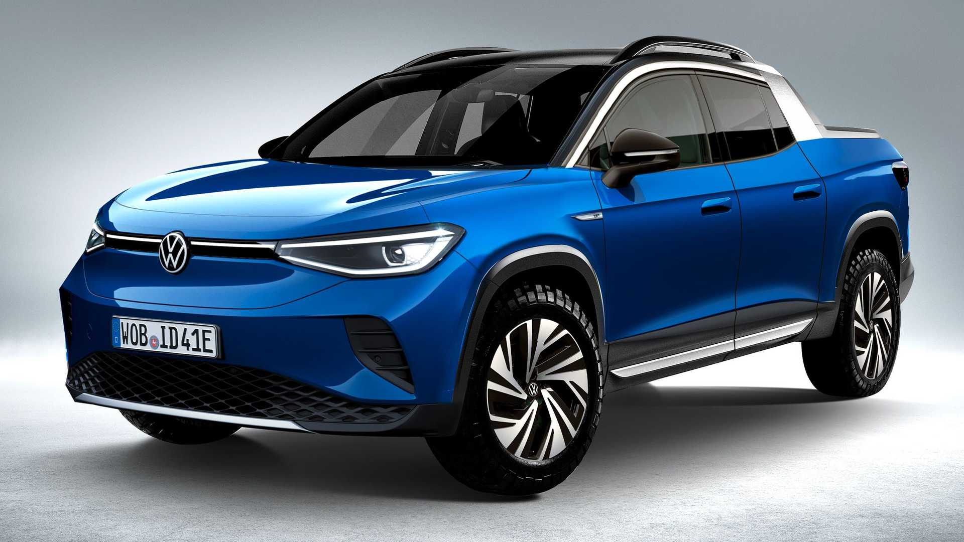 Would You Buy A VW ID.4-Based Electric Pickup Truck?