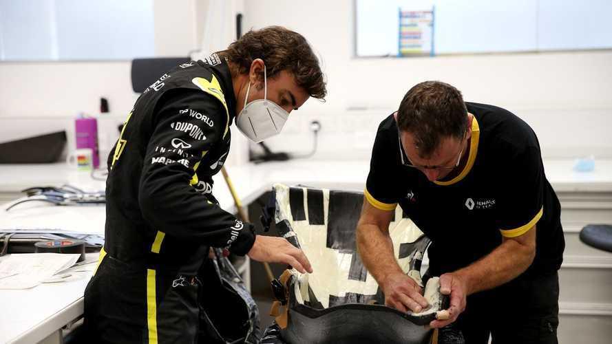 Renault confirme le retour en piste d'Alonso aujourd'hui