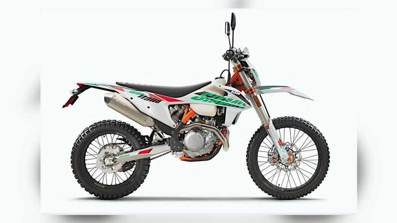 2021 KTM 500 EXC-F Six Days Right Side