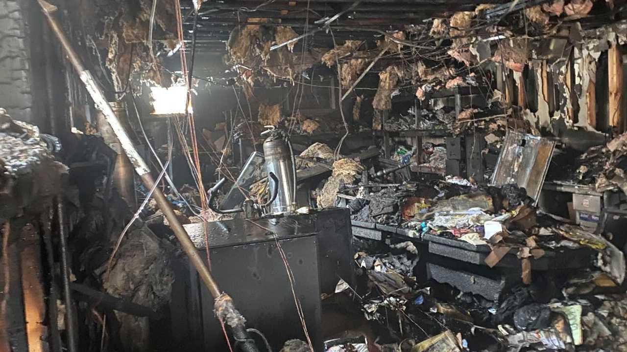 Laconia Motorcycle Week Office Fire Damage