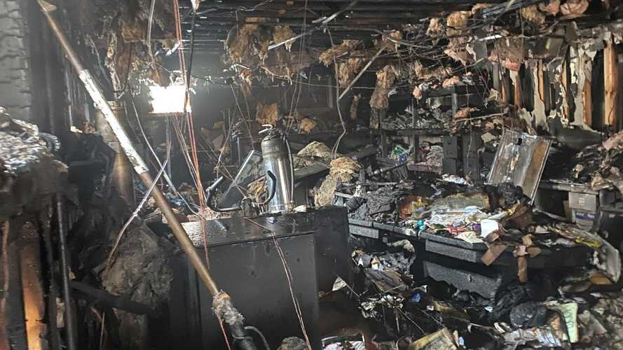 Laconia Motorcycle Week Offices Destroyed By Fire