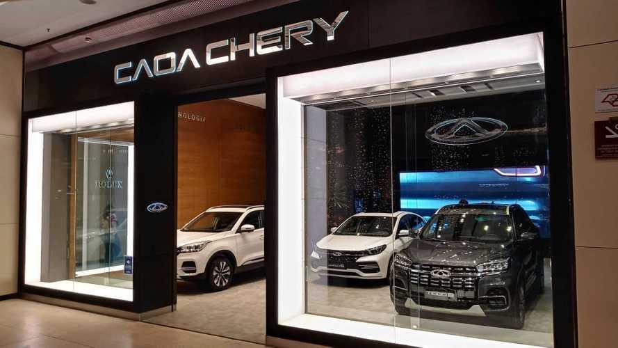 CAOA Chery inaugura loja em shopping de luxo já visando marca premium Exeed