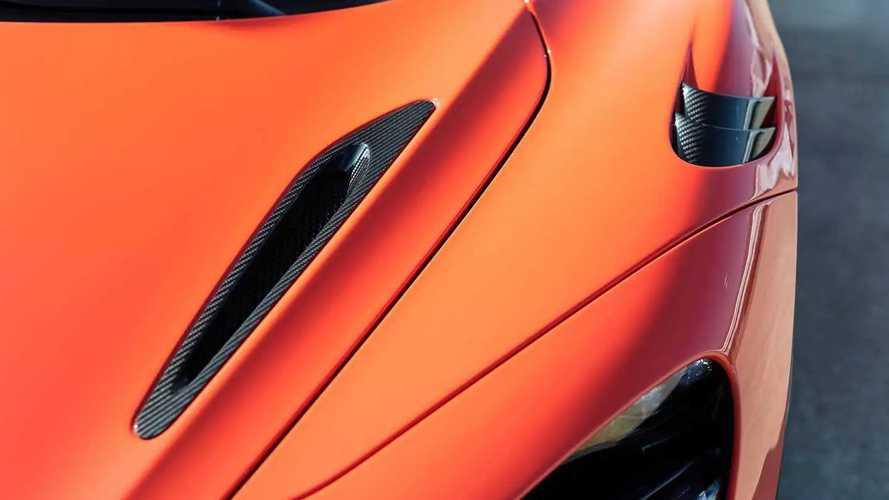 McLaren 765LT, prima prova in pista