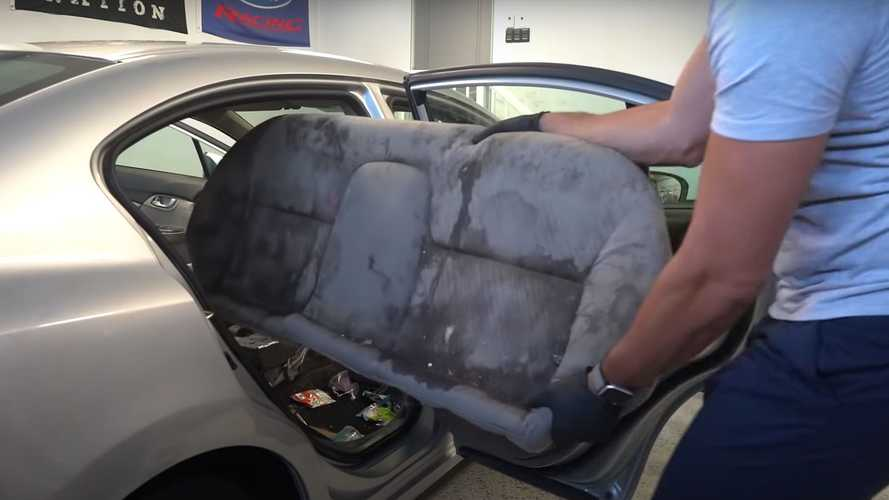 Disgusting Honda Civic Gets The Deep Cleaning It Desperately Needed