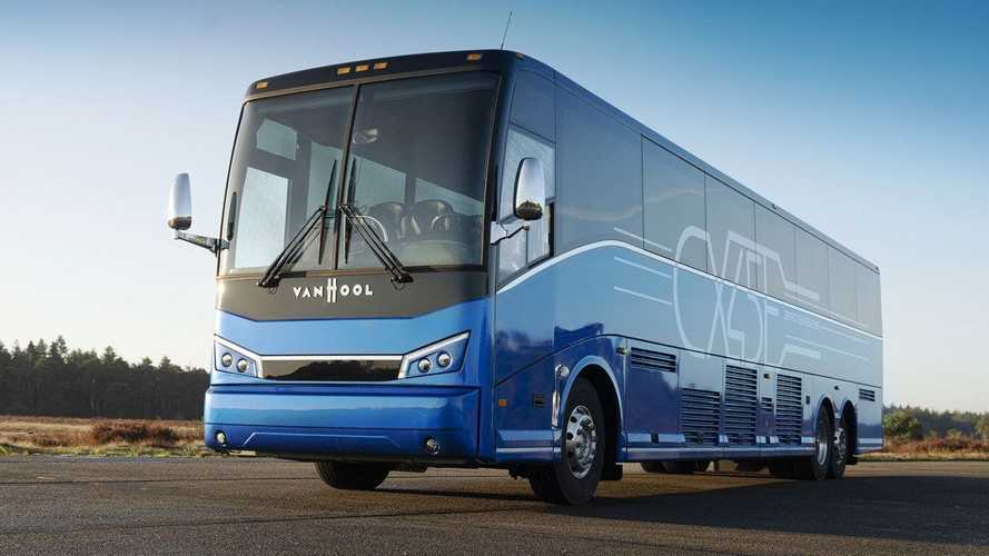 Van Hool Ships First Proterra-Powered Electric Coach To The U.S.