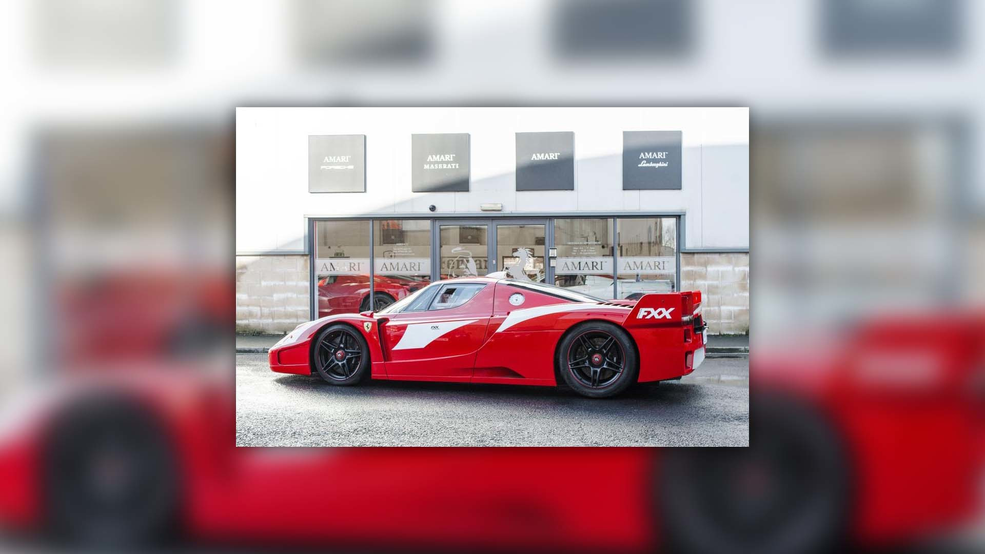The World S Only Street Legal Ferrari Enzo Fxx Is For Sale