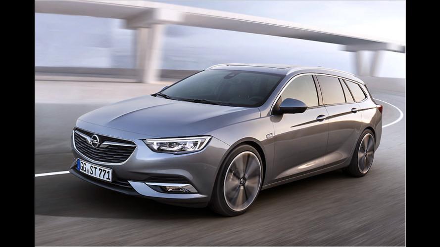 Alles zum neuen Opel Insignia Sports Tourer (2017)
