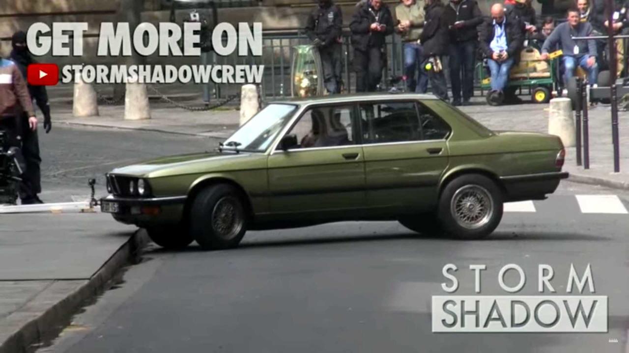 BMW 5 Serisi Görevimiz Tehlike Sahneleri