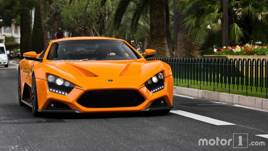 PHOTOS - Une Zenvo ST1 pose pour nous à Monaco !