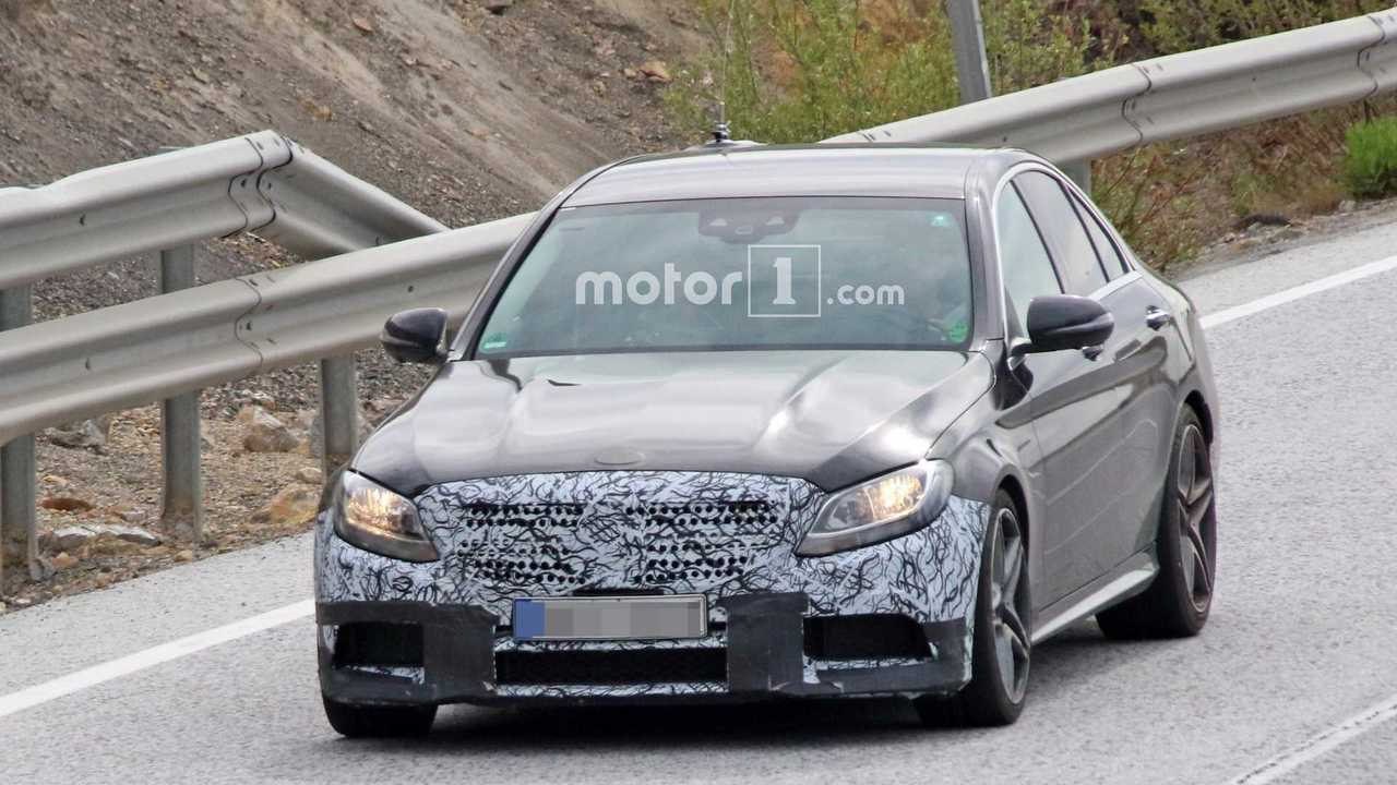 2018 Mercedes-AMG C63 Sedan spy photo