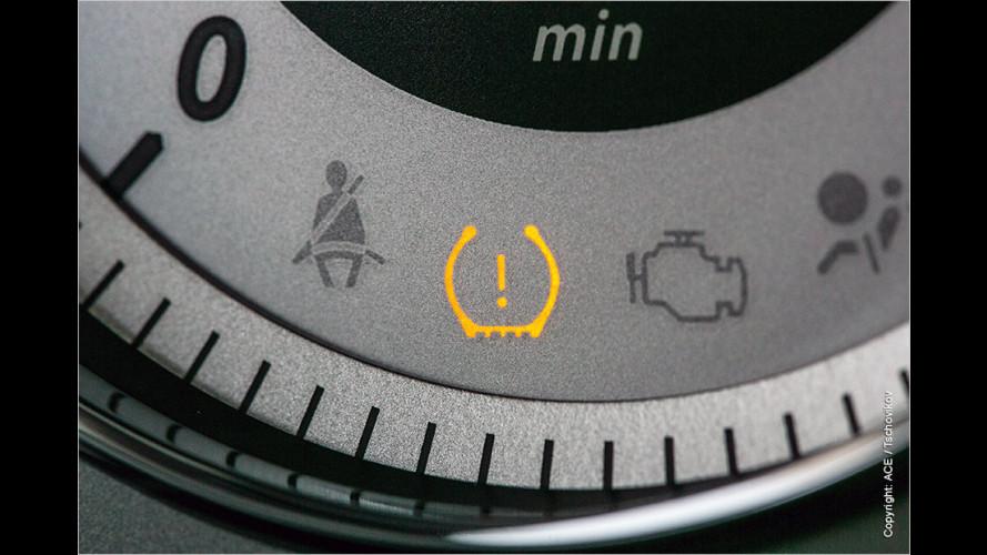 Reifendruck-Kontrollsysteme: Wirklich zuverlässig? (2016)