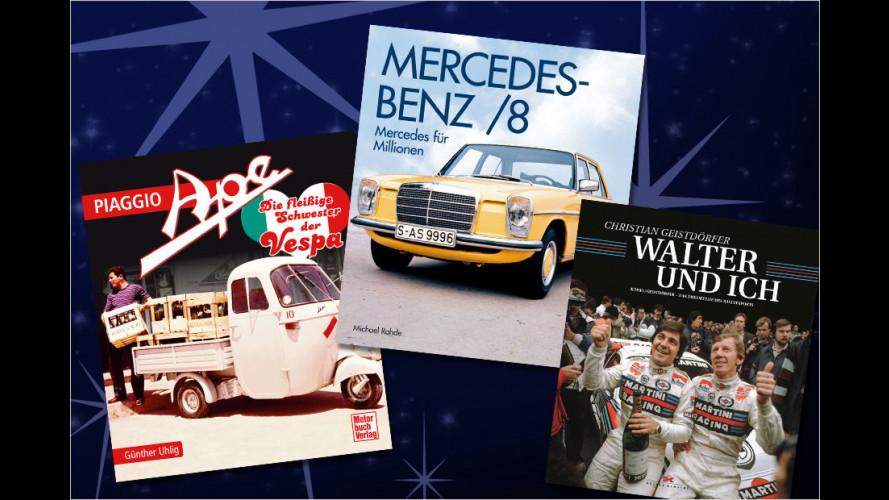 Top 10: Die besten Auto-Bücher zum Fest
