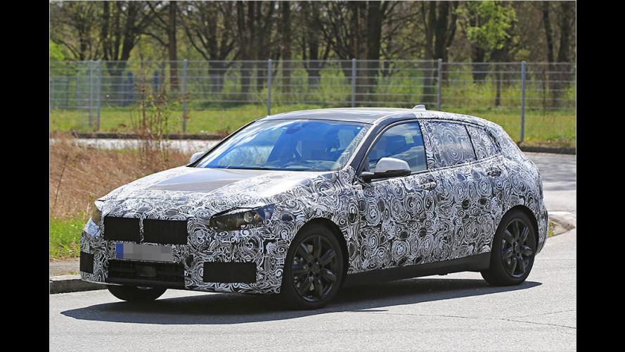 BMW 1er als Erlkönig mit Frontantrieb erwischt
