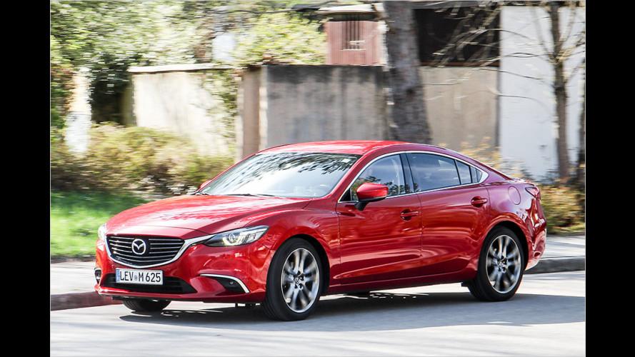 Im Schnelltest: Der Mazda 6 (2017)