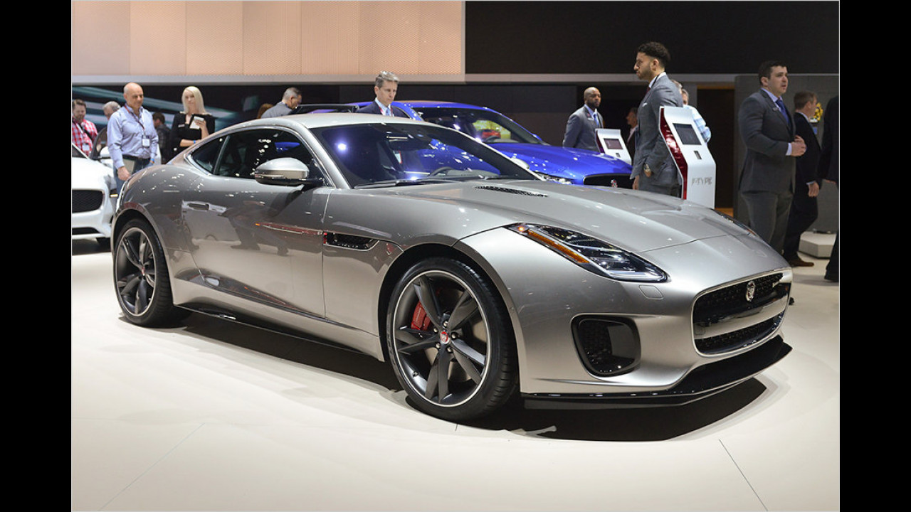 Jaguar F-Type mit Vierzylinder