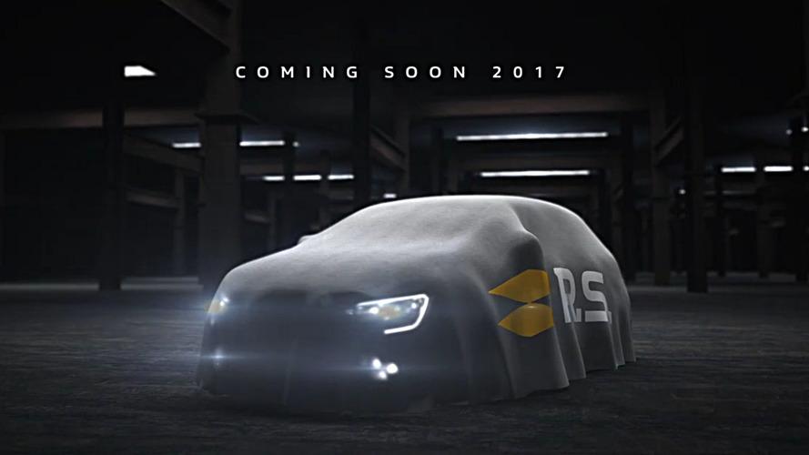 El Renault Mégane R.S. 2017 ya está listo para exhibirse