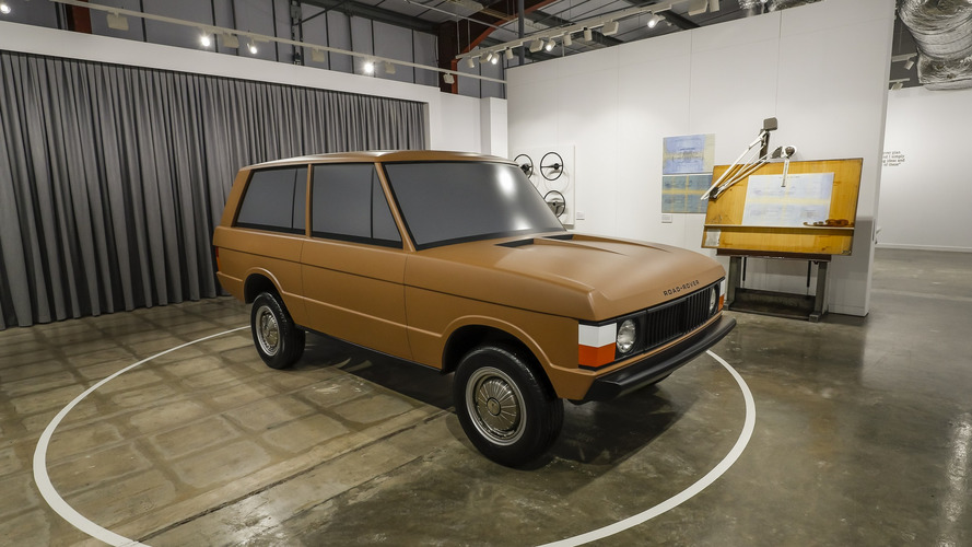 The Story of Range Rover exhibition