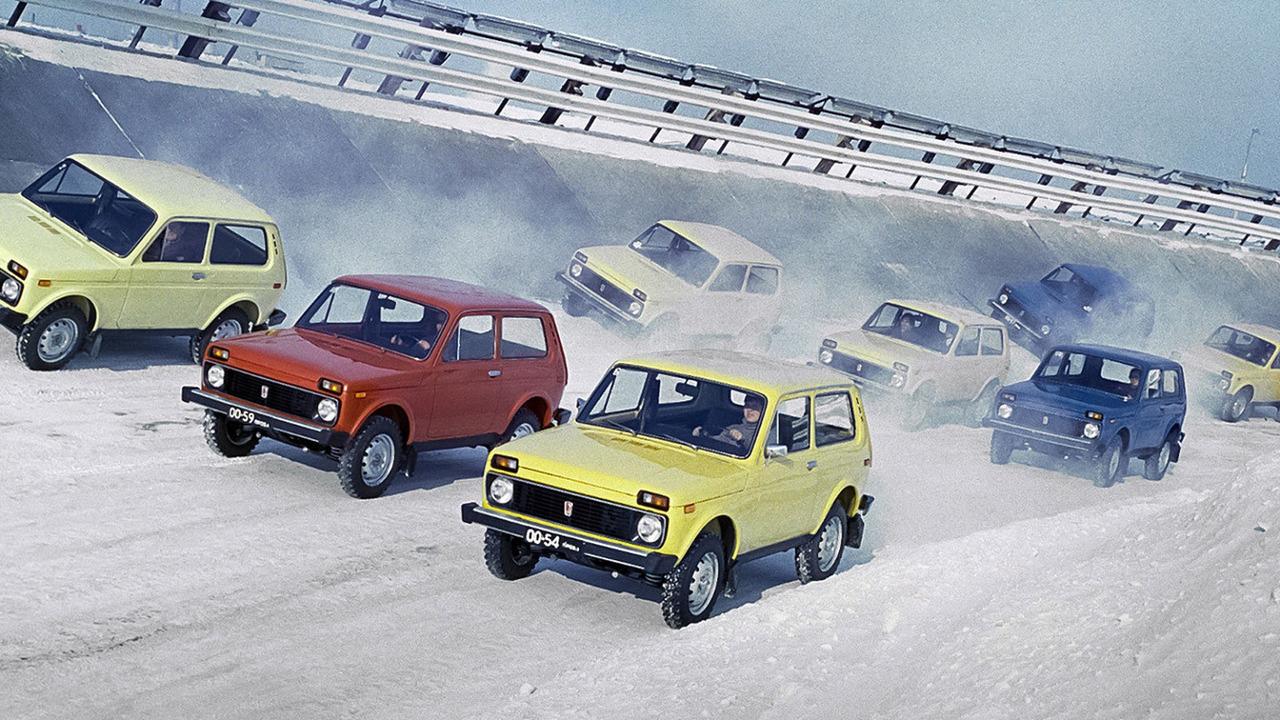 Lada Niva 40 Years