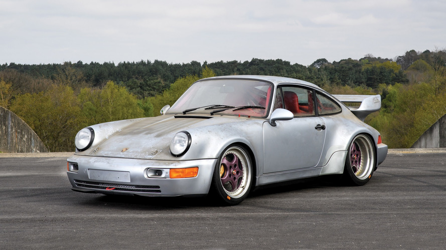 Enchères - Une très rare Porsche 911 964 RSR refait surface !