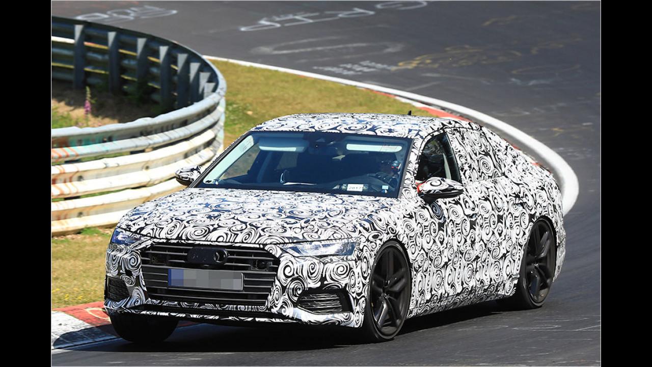 Erlkönig: Der Audi A6 C8 für 2018