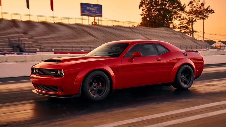 Première image de la Dodge Challenger SRT Demon