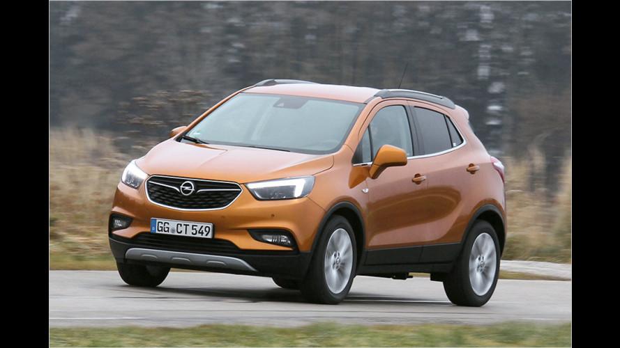 Opel Mokka X mit 140-PS-Benziner und Allrad im Test