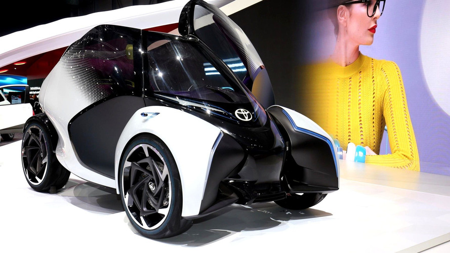 Toyota i-Tril Concept imagines chic look for urban transport in Geneva