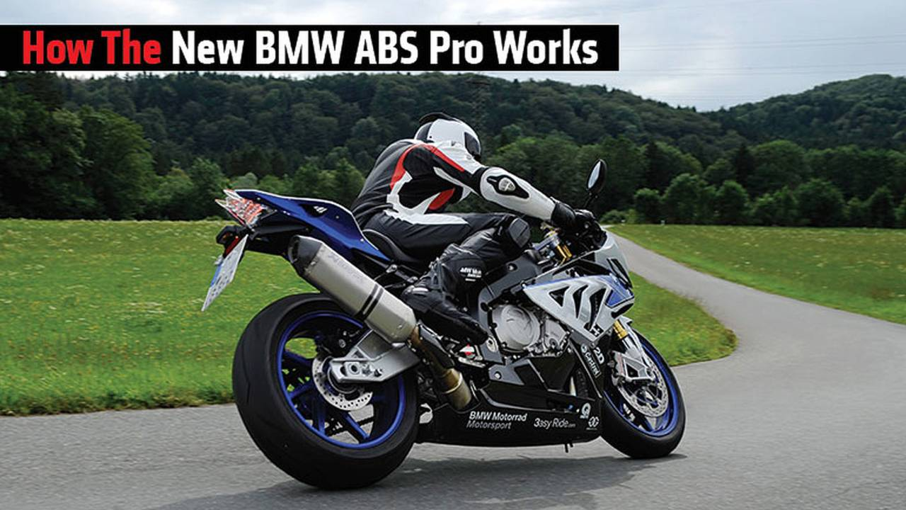 How The New BMW ABS Pro Works