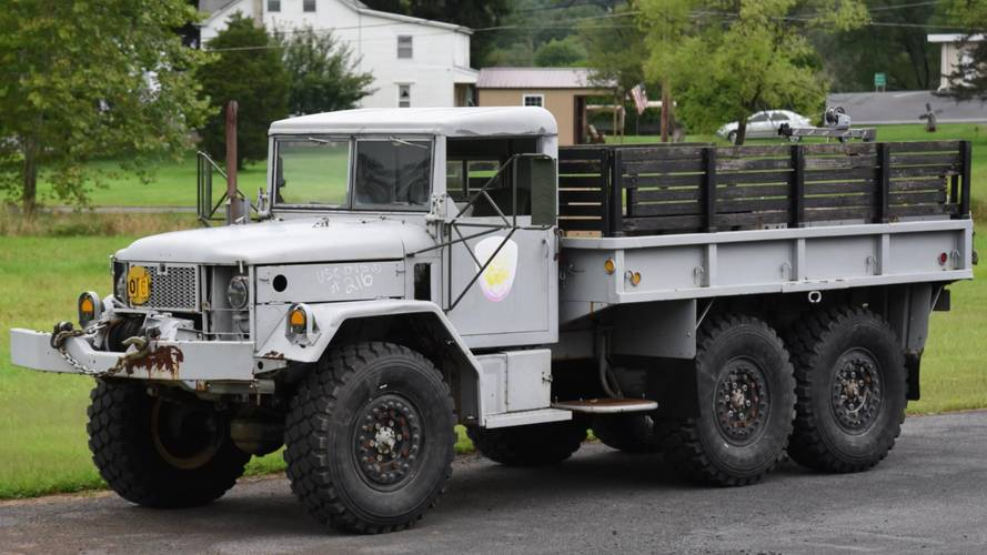 1970 M35 Deuce And A Half 6X6 Will Redefine Your Idea Of Rugged