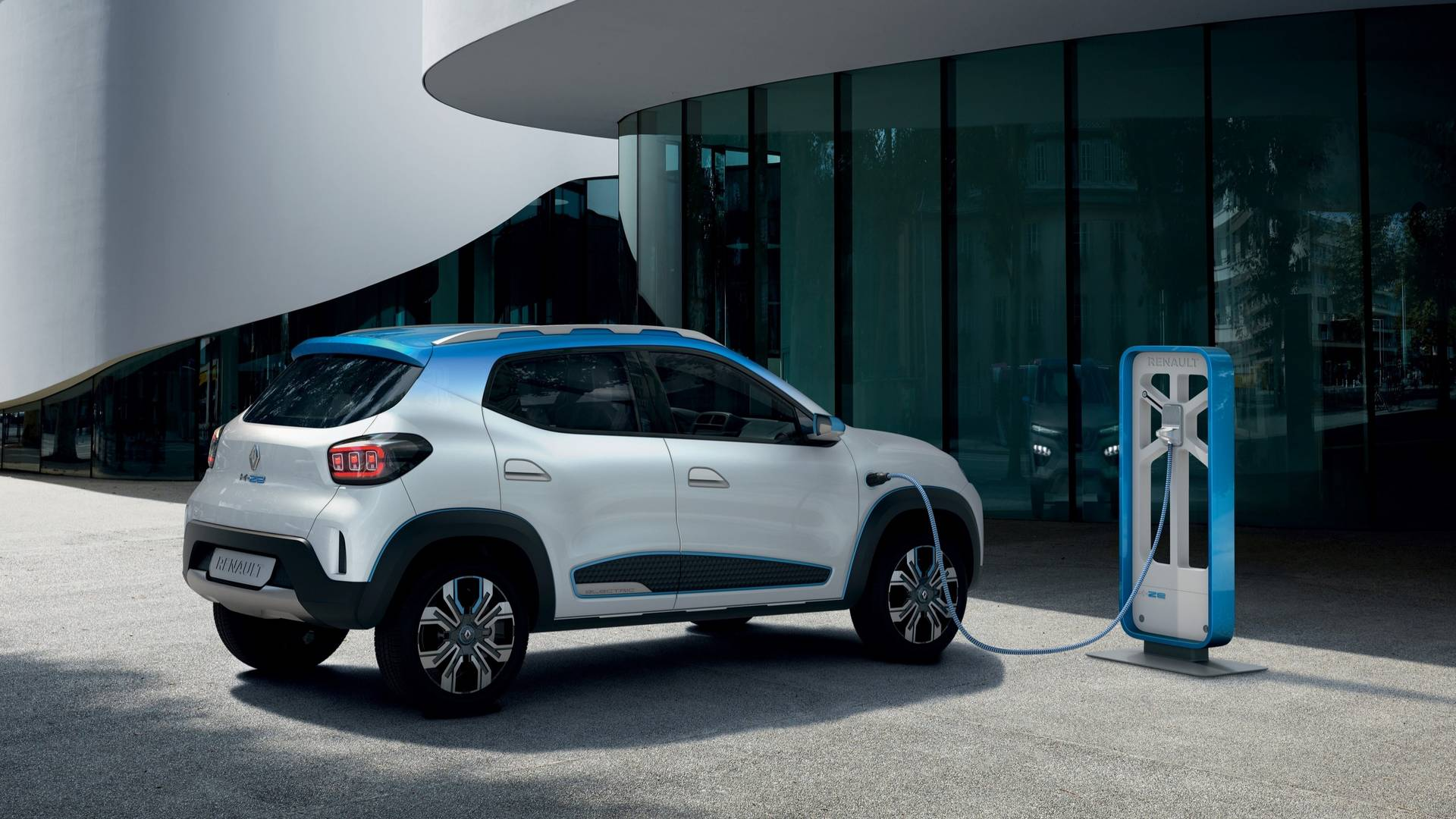 Renault Kwid elétrico será revelado em abril Renault-k-ze-concept