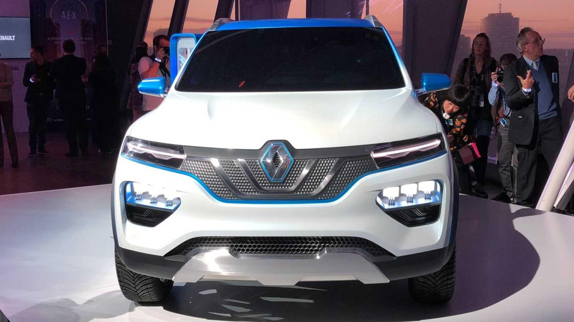 Renault Zeigt Elektro Suv Namens K Ze Und Kündigt Hybride An