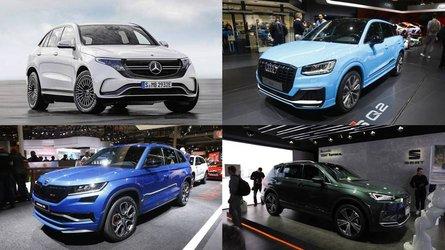 Los 10 mejores SUV del salón de París 2018
