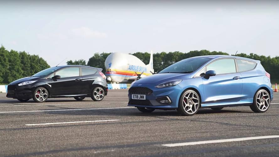 Yeni Ford Fiesta ST ile eskisinin drag yarışını izleyin