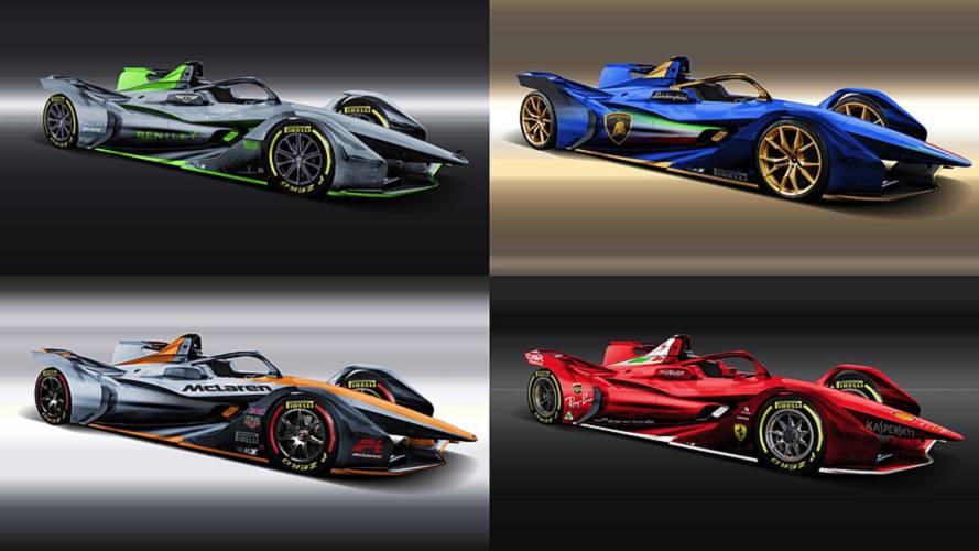 6 marcas de coches que deberían entrar en la Formula E