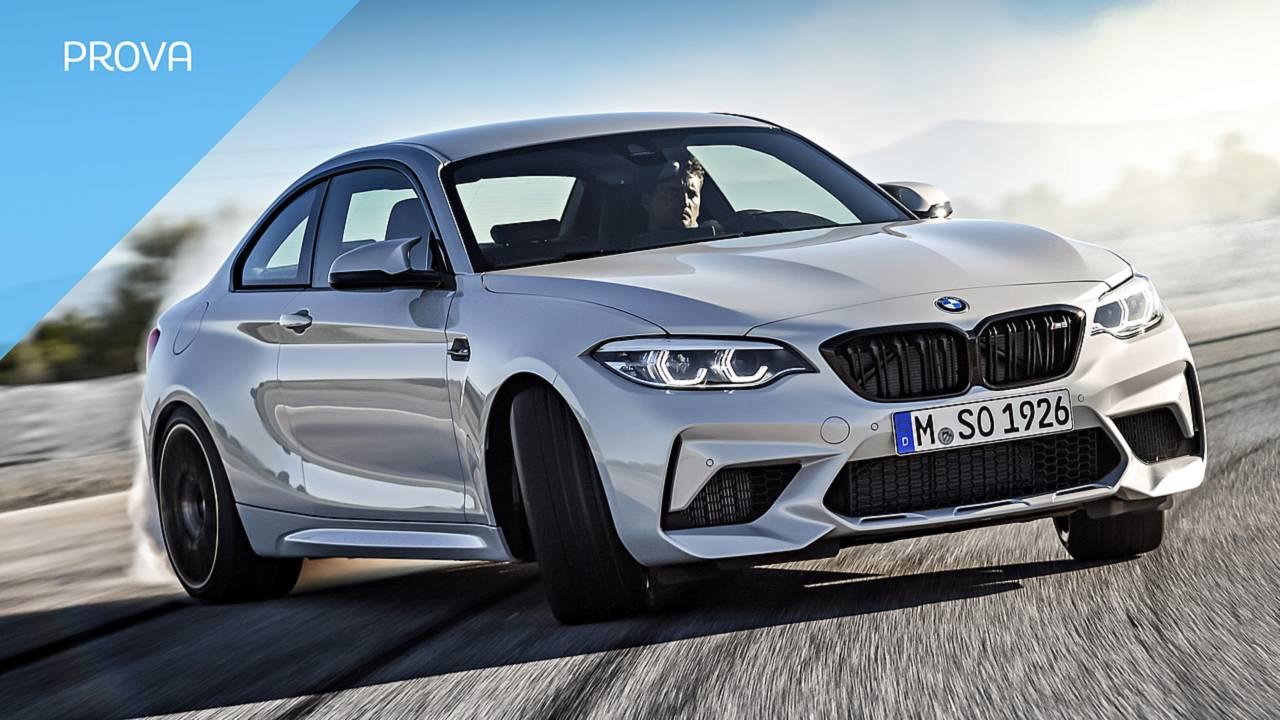 BMW M2 Competition, la prova