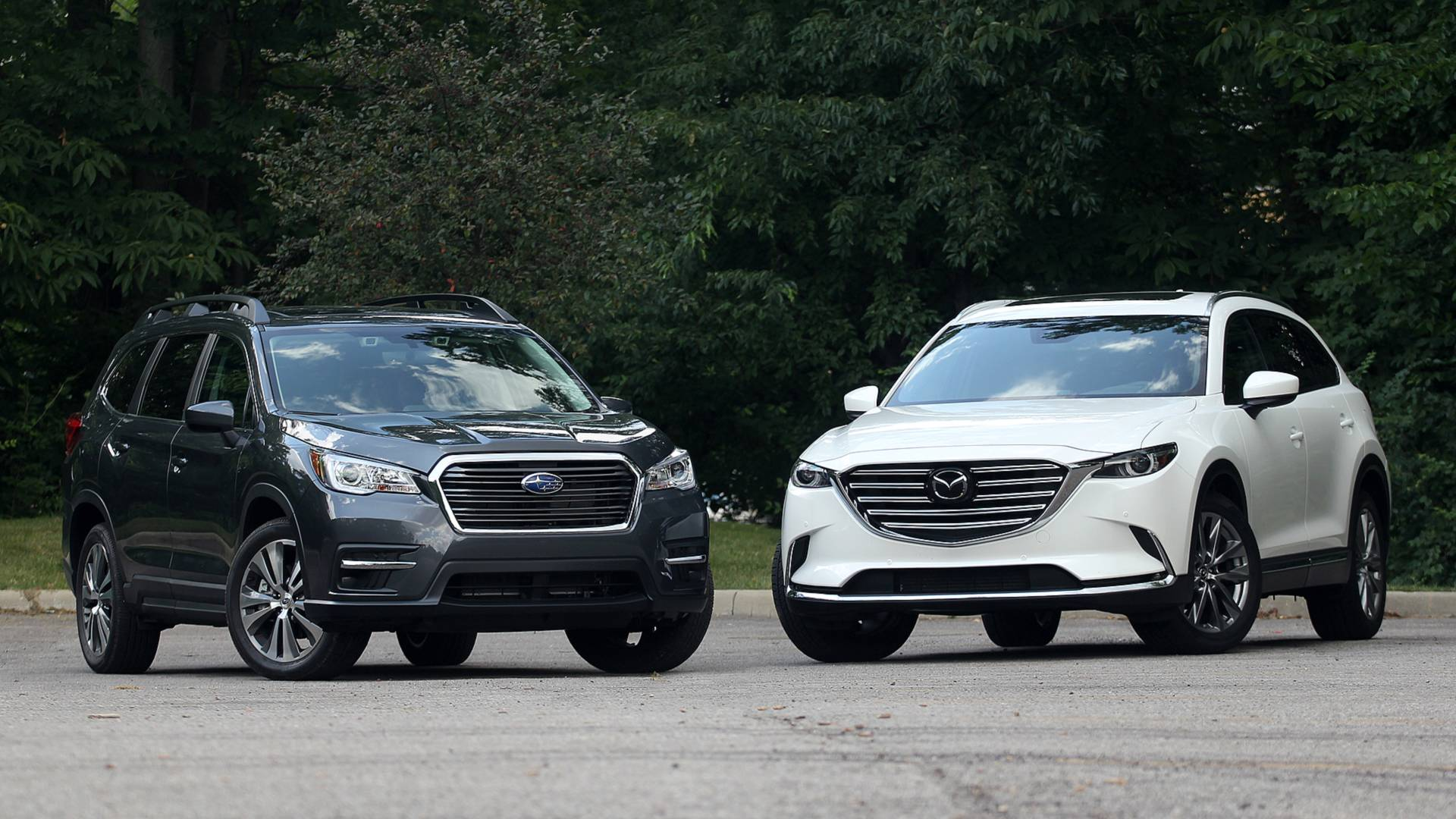 Subaru Ascent Vs Mazda Cx 9 Substance Meet Style