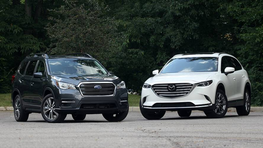 Subaru Ascent Vs. Mazda CX-9: Substance, Meet Style