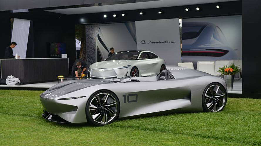 Infiniti reveals sexy speedster that connects past to future