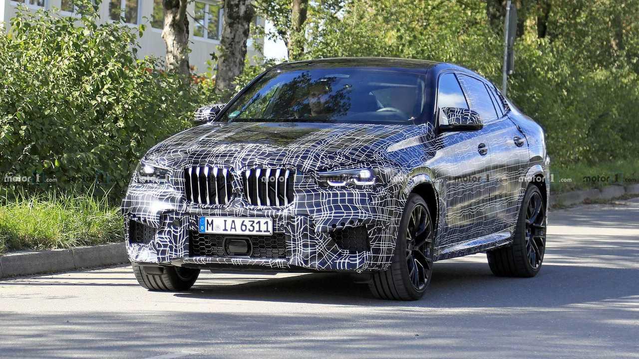 2020 BMW X6 M Casus Fotoğraflar