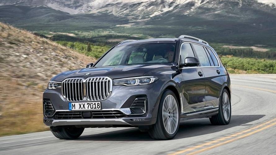 2019 BMW X7 revealed with brawny face, 7-seats