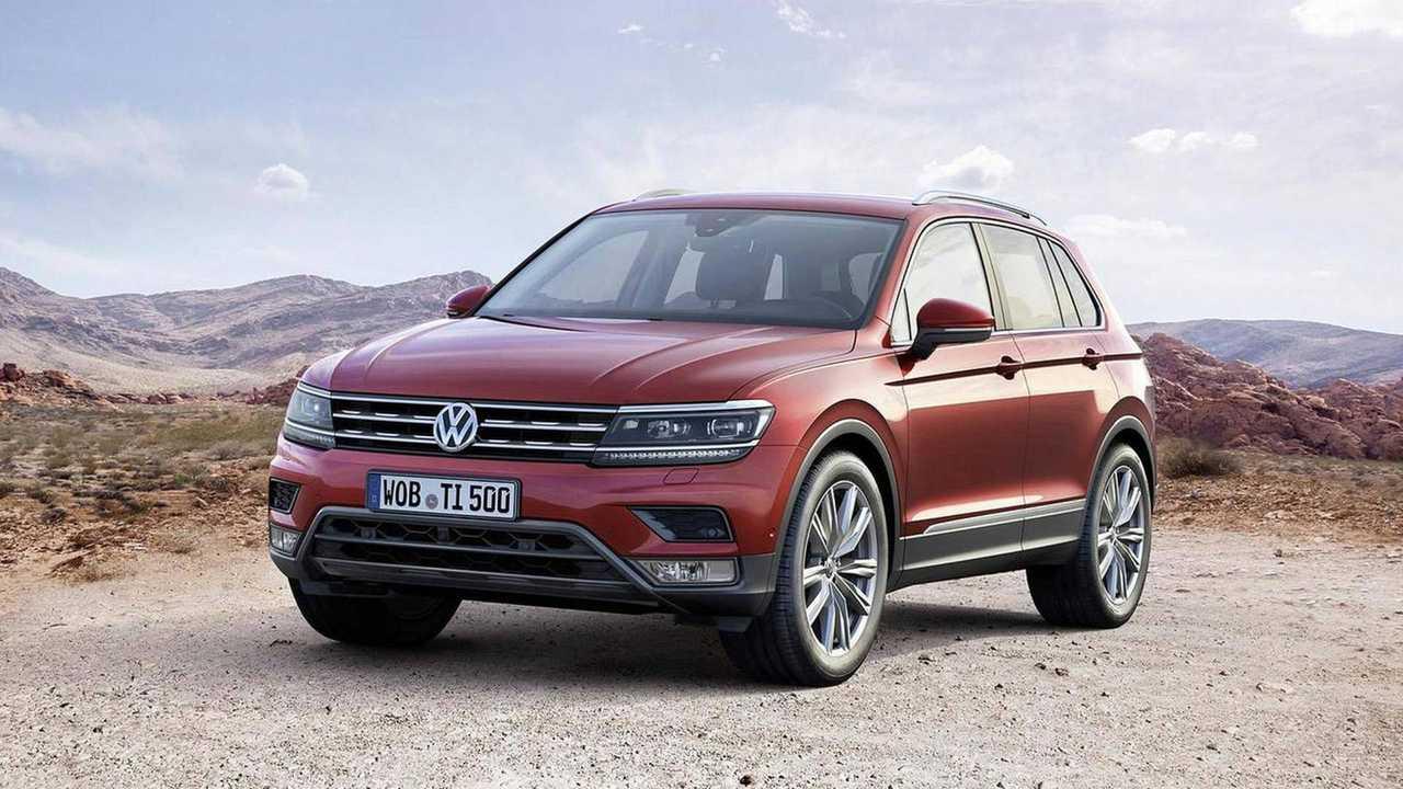 5 - Volkswagen Tiguan