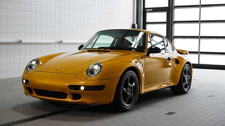 Project Gold is the new air-cooled 911 Turbo you've been wanting