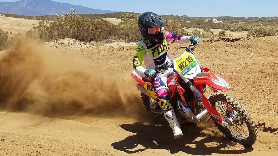 Rocking Riders: A Girl and Her Bike Eat Some Dust