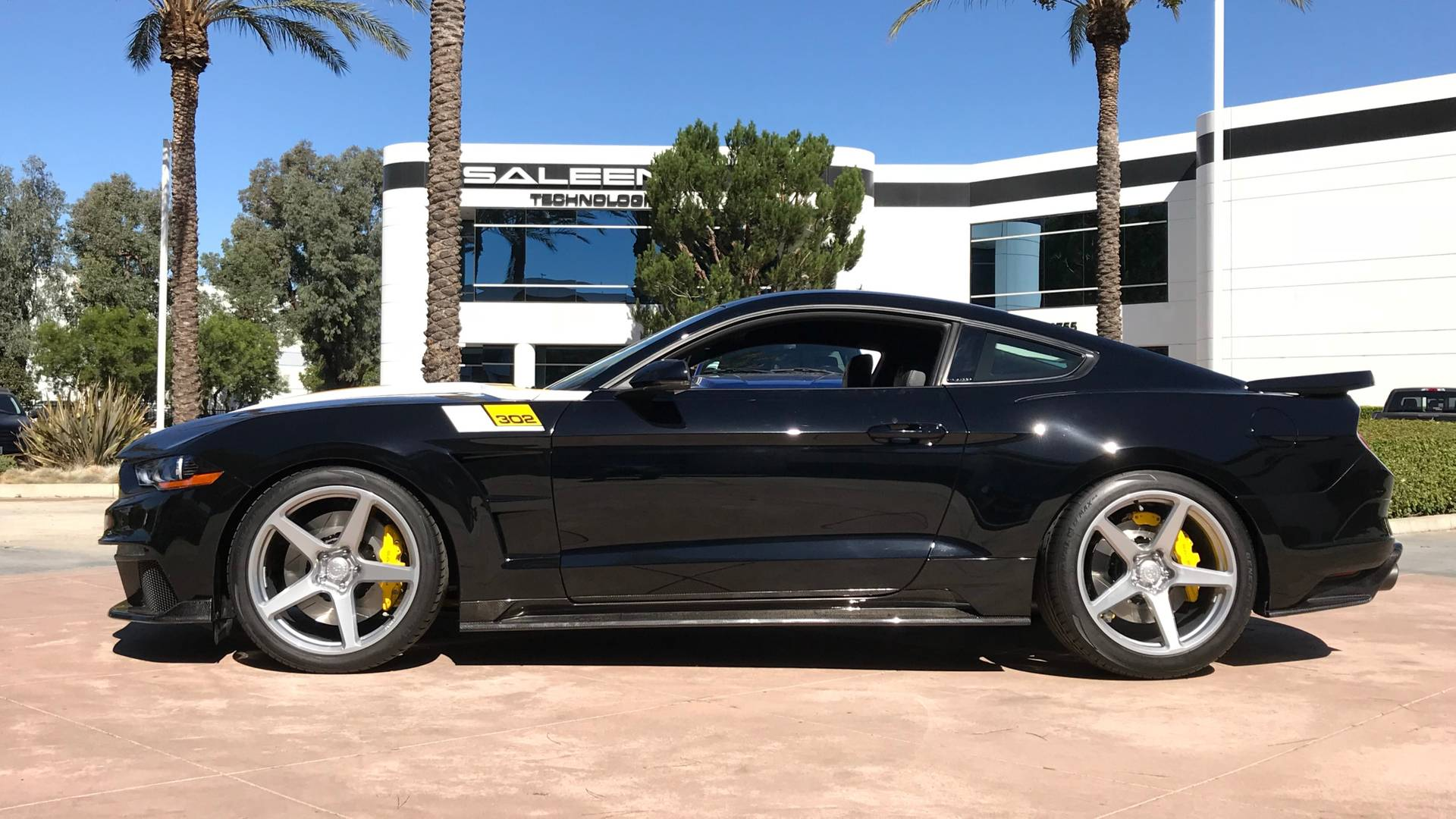 Saleen Automotive Is Back In Black With 35th Anniversary Mustang