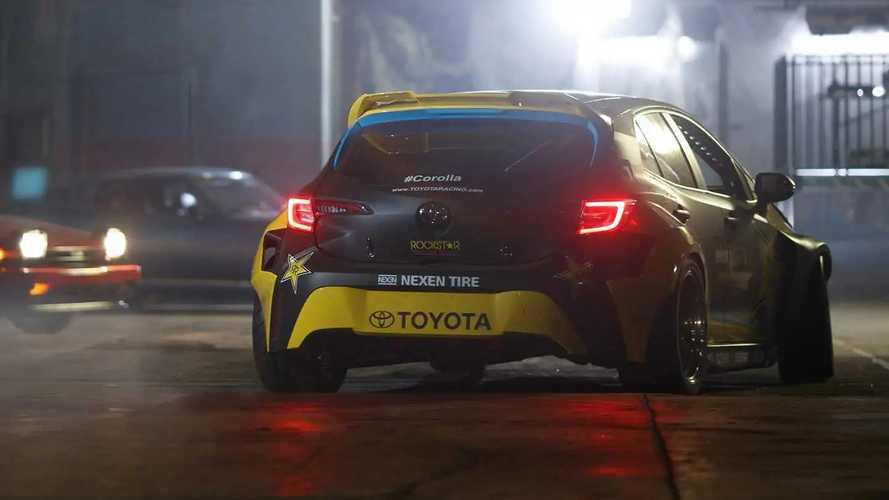 Toyota Corolla Papadakis Racing Drift Car SEMA